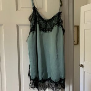She and Sky Lace and Satin Cami